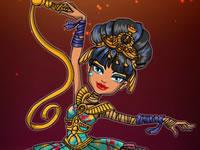 Jeu Cleo de Nile Ballerine