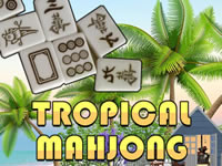 Jeu Tropical Mahjong