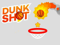 Jeu Dunk Shot