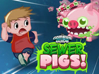 Jeu Gamer's Guide Sewer Pigs!
