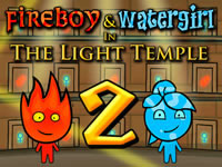 Jeu Fireboy and Watergirl Light Temple