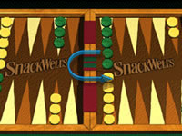Jeu SnackWells - Backgammon