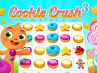 Jeu gratuit Cookie Crush 3