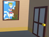 Jeu Voxel House Escape 3D