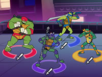 Jeu gratuit City Showdown TMNT