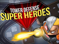 Jeu Tower Defense Super Heroes