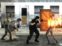 Jeu gratuit Final Night Zombie Street Fight