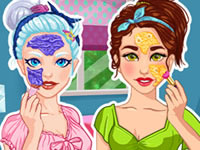 Jouer à Crystal et Olivia - Relooking