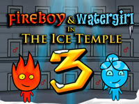 Jouer à Fireboy and Watergirl The Ice Temple