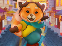 Jeu Red Panda Surfer