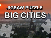 Jeu Jigsaw Puzzle - Big Cities