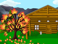 Jeu Autumn Cabin Escape