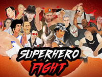 Jeu Superhero Fight