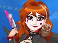 Jeu Halloween avec Anna