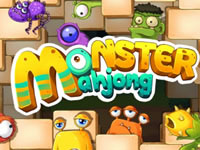 Jeu Monster Mahjong