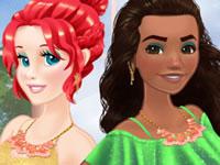 Jeu Princesses en vacances en duo