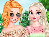 Jeu Princesses Ongles Fruités