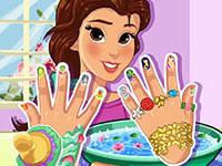 Jeu Les ongles de Belle