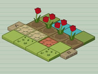Jeu Mr. Tulip Head's Puzzle Garden