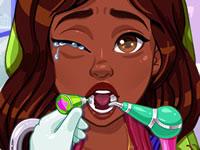 Jeu Noelle et son dentiste