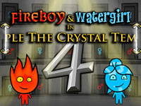 Jeu gratuit Fireboy and Watergirl Crystal Temple