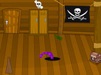 Jeu Super Sneaky Pirate Room Escape