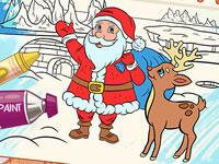 Jeu Mes coloriages de Noël