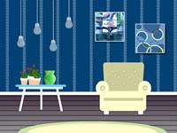 Jeu gratuit Blue Room