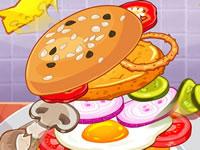 Jeu gratuit Défi Burger Géant