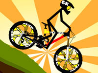 Jeu Stickman Bike Rider