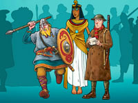 Jeu gratuit Horrible Histories Gruesome Game-A-Thon