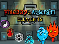 Jeu gratuit Fireboy and Watergirl 5 - Elements