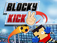 Jeu Blocky Kick 2