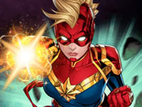 Jeu gratuit Captain Marvel - Galactic Flight