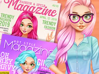 Jeu Barbie 3 looks de magazine