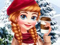 Jeu Anna et Elsa quittent Arendelle