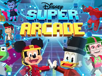 Jeu Disney Super Arcade