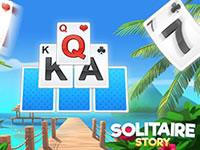 Jeu Solitaire Story - TriPeaks