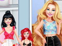 Jeu Barbie Multi Looks