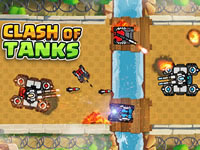 Jeu Clash of Tanks