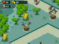 Jeu King Bird Tower Defense