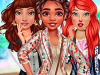 Jeu Princesses en trio à Coachella