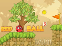 Jeu gratuit Red Bounce Ball 5
