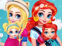 Jeu Princesses Baby Wearing Fun