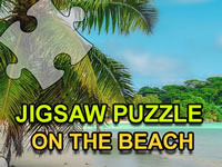 Jeu Jigsaw Puzzle On The Beach