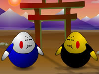 Jeu Egg Fighter