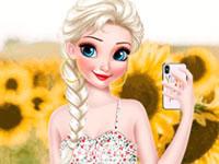 Jeu L'été en selfie
