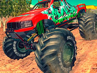 Jeu gratuit Monster 4x4 Offroad Jeep Stunt Racing 2019