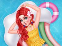 Jeu Les princesses vont à la piscine
