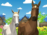 Jeu gratuit Horse Family Animal Simulator 3D